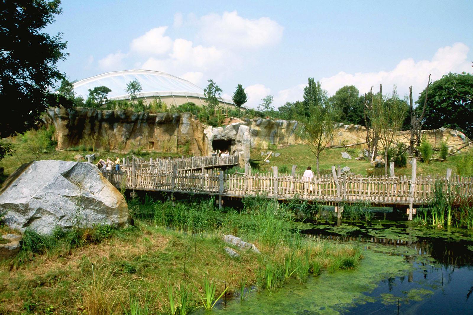 pongoland zoo leipzig garten und landschaftsbau referenzen krahnst ver wolf gmbh. Black Bedroom Furniture Sets. Home Design Ideas